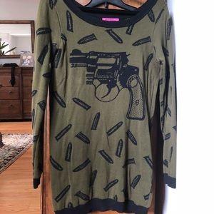 Betsey Johnson sweater dress/tunic